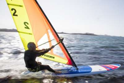 windsurf board, the model windsurfer LT by Exocet, in France