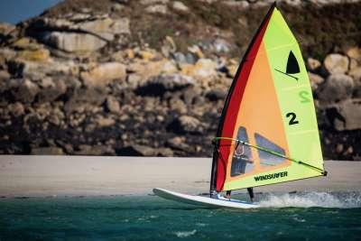 windsurf board, the model windsurfer LT by Exocet, in France