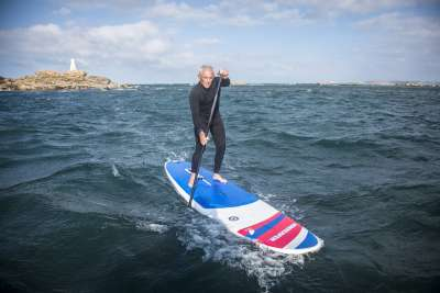 planche windsurfer LT by Exocet, en stand up paddle, en France.