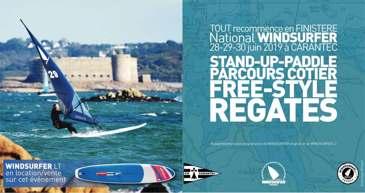 National windsurfer 2019, épreuve windsurfer class, windsurfer LT, Racing