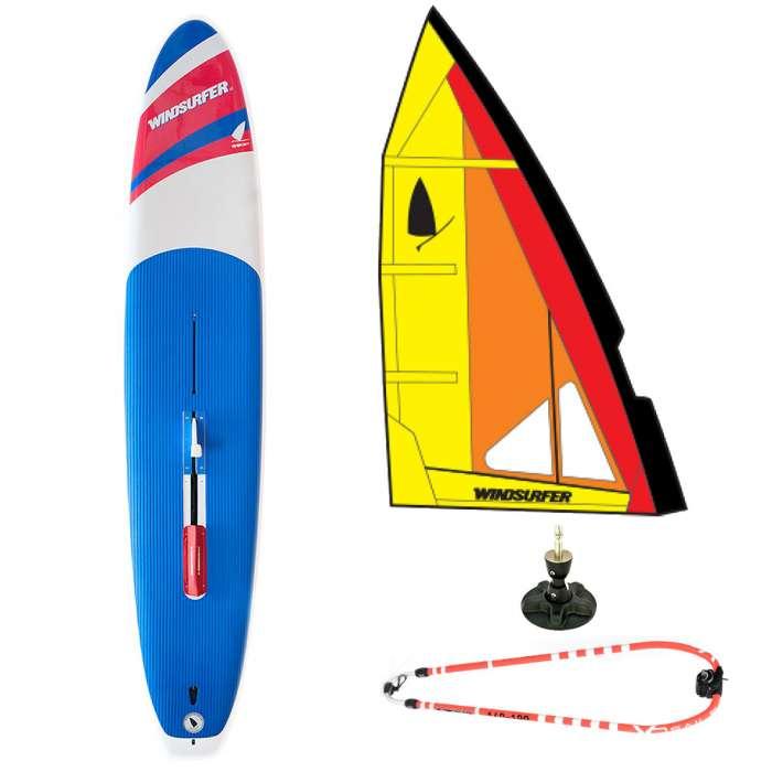 Windsurfer France, pack, planche à voile Windsurfer LT, windsurfer racing