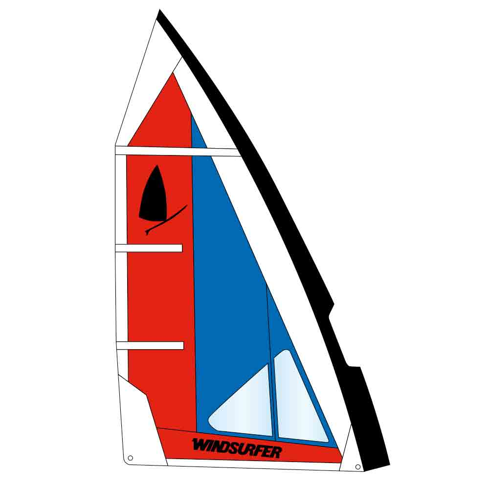 Windsurfer sail Revolution