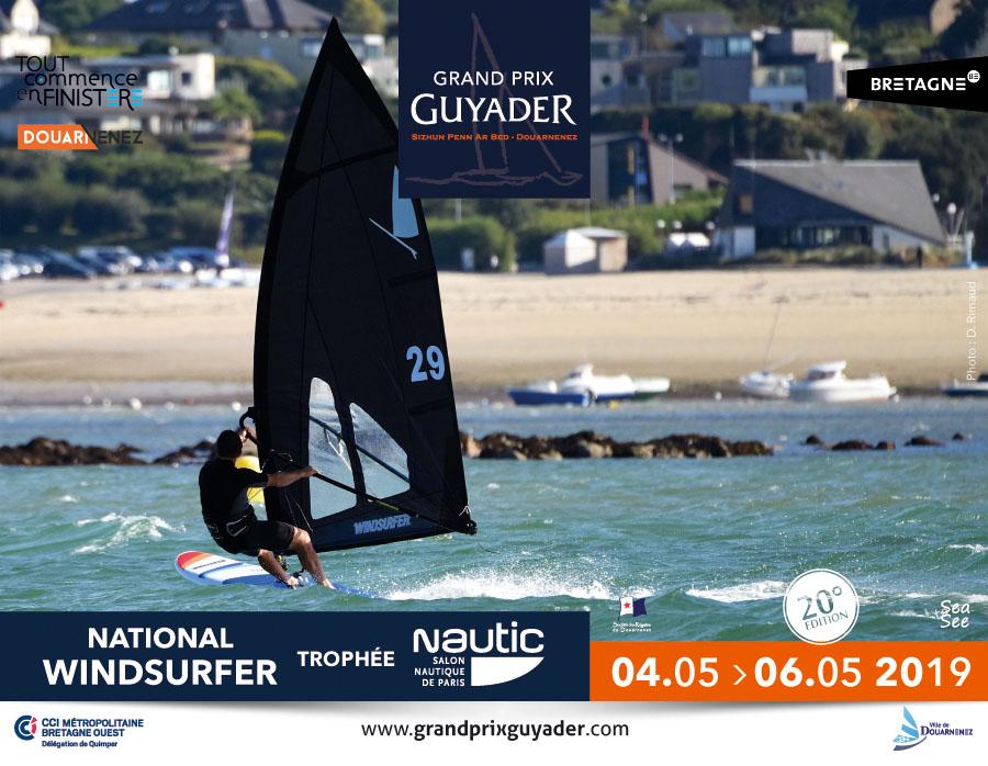 grand prix guyader 2019, épreuve windsurfer class, windsuerfer LT, Racing