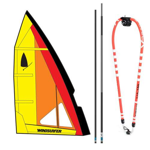 greemet complet windsurfer LT, racing, france
