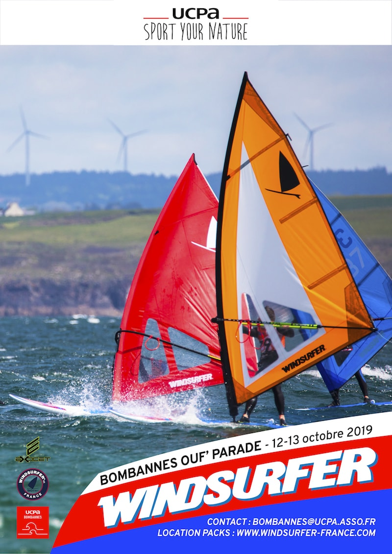 Windsurfer ouf parade ucpa bombannes