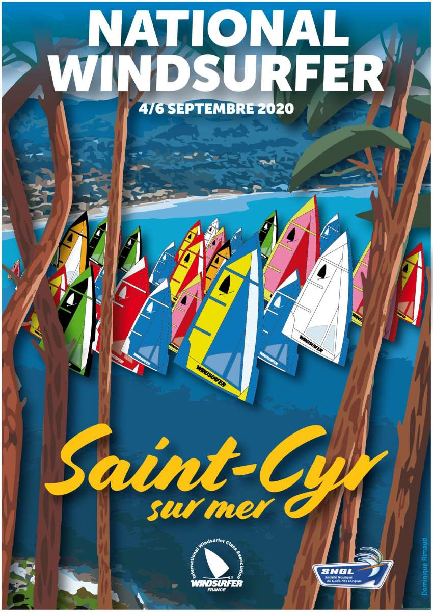NAtional Windsurfer France Saint Cyr sur mer