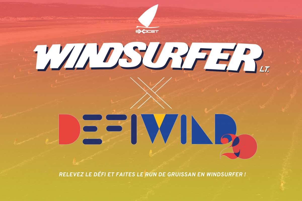 windsurfer X Défi Wind 2020 France
