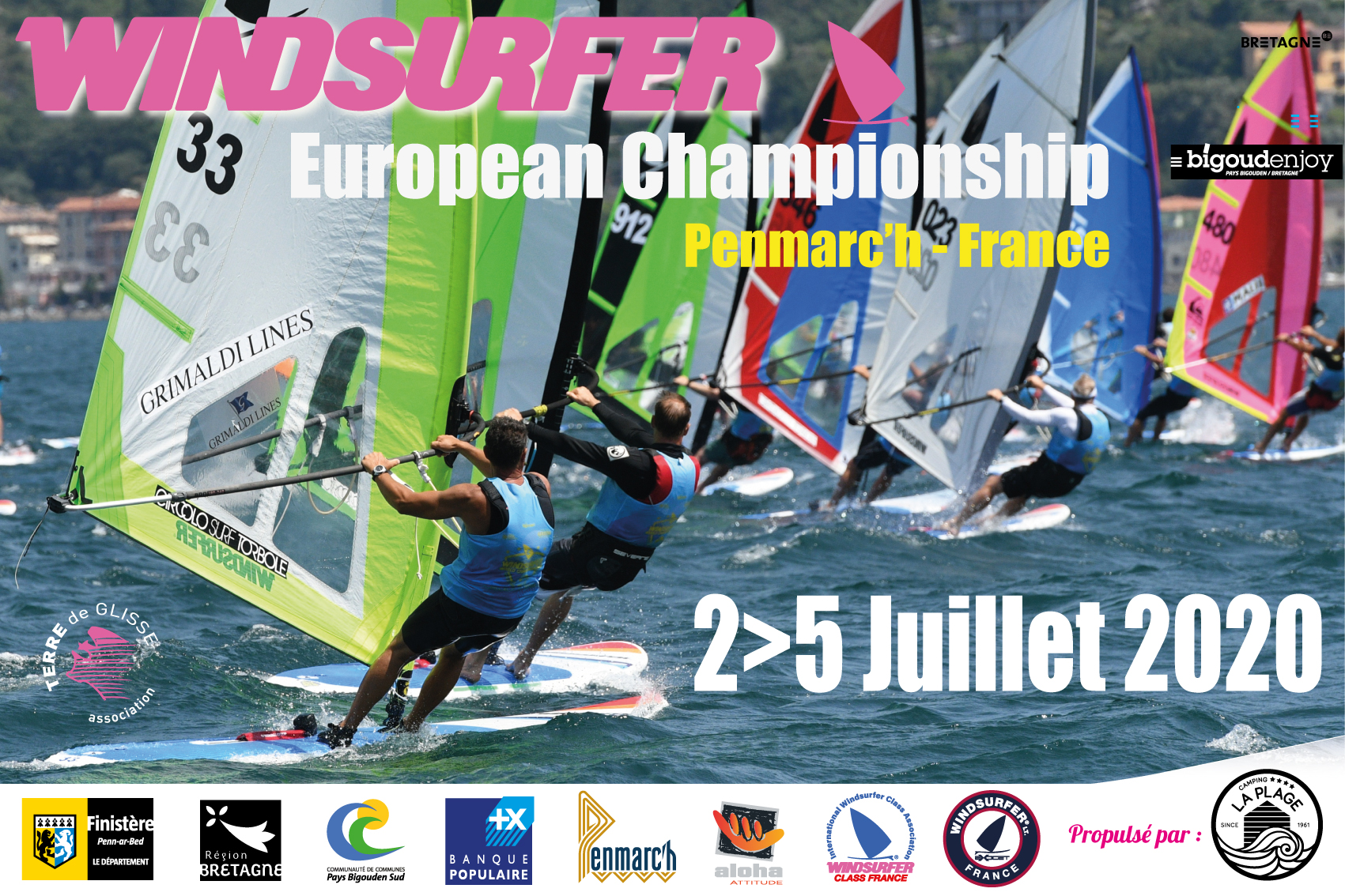 Championnat d'europe Windsurfer France 2020